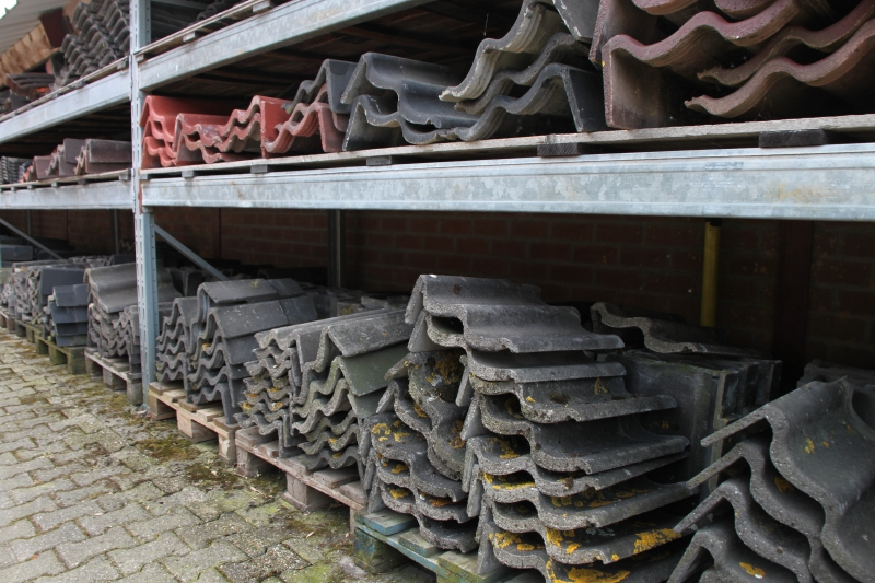 stelling gevelpannen beton
